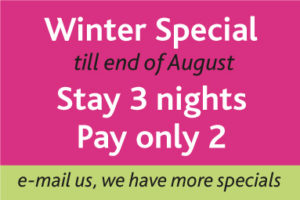 Special rate in winter