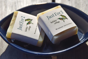 Natural handmade guest soap